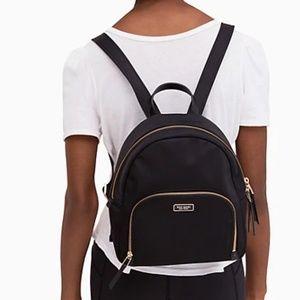 Kate Spade Dawn Medium Backpack Black NWT